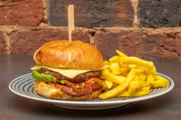 Bacon and Cheese Burger