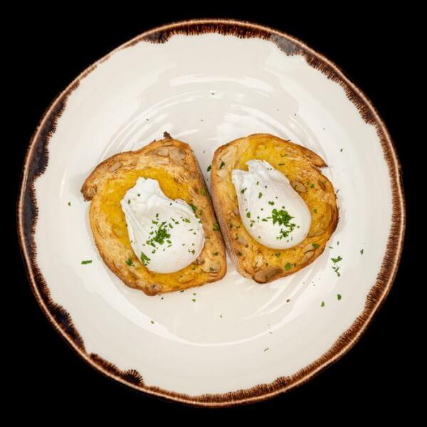 Eggs On Toast - Gluten Free
